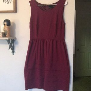 Maroon Cynthia Rowley Dress